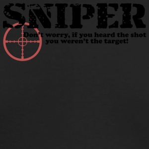 Sniper Hear - Men's Long Sleeve T-Shirt by Next Level