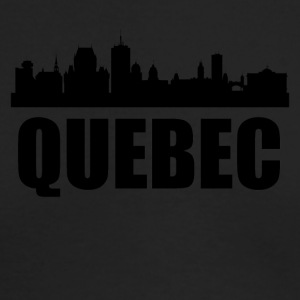 Quebec Skyline - Men's Long Sleeve T-Shirt by Next Level