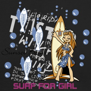 SURF FOR GIRL - Men's Long Sleeve T-Shirt by Next Level