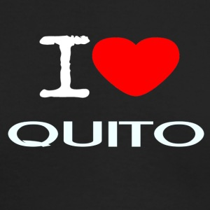 I LOVE QUITO - Men's Long Sleeve T-Shirt by Next Level