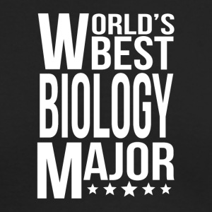 World's Best Biology Major - Men's Long Sleeve T-Shirt by Next Level