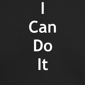 I can do it - Men's Long Sleeve T-Shirt by Next Level