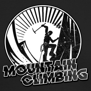 Mountain Climbing - Men's Long Sleeve T-Shirt by Next Level