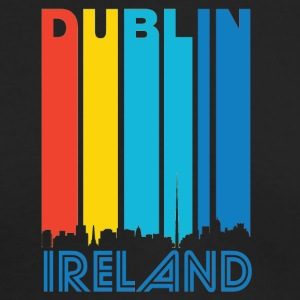 Retro Dublin Skyline - Men's Long Sleeve T-Shirt by Next Level