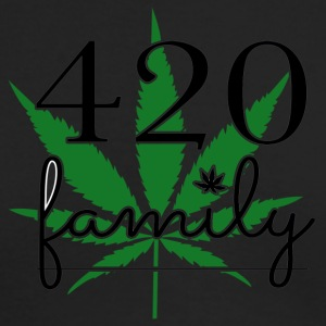 420 Family Weed - Men's Long Sleeve T-Shirt by Next Level
