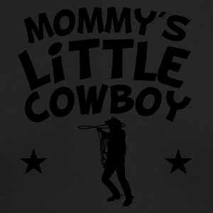 Mommy's Little Cowboy - Men's Long Sleeve T-Shirt by Next Level