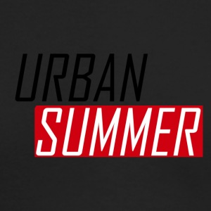 Urban Summer Logo - Men's Long Sleeve T-Shirt by Next Level