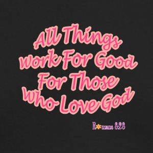 Romans 8:28 - Men's Long Sleeve T-Shirt by Next Level