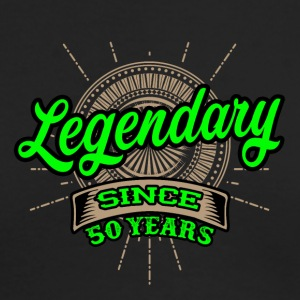 Legendary since 50 years t-shirt and hoodie - Men's Long Sleeve T-Shirt by Next Level