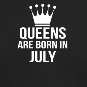 queens are born in july - Men's Long Sleeve T-Shirt by Next Level