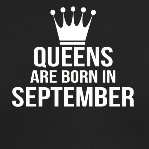 queens are born in september - Men's Long Sleeve T-Shirt by Next Level