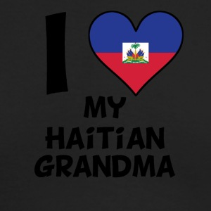 I Heart My Haitian Grandma - Men's Long Sleeve T-Shirt by Next Level