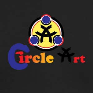 Circle Art - Men's Long Sleeve T-Shirt by Next Level
