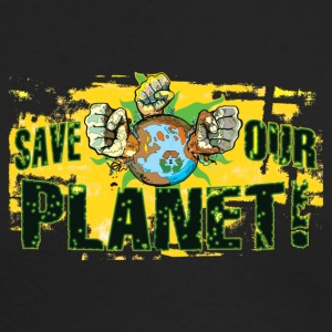 Save Our Planet - Our Earth - Men's Long Sleeve T-Shirt by Next Level