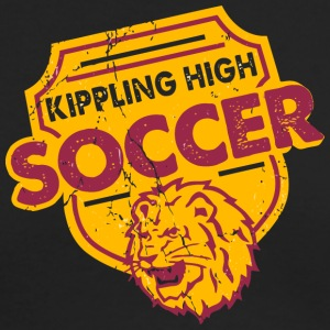 Kippling High Soccer Choose a Mascot - Men's Long Sleeve T-Shirt by Next Level