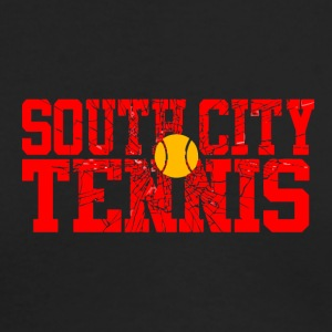 South City Tennis - Men's Long Sleeve T-Shirt by Next Level