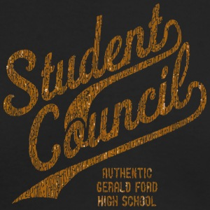Student Council AUTHENTIC GERALD FORD HIGH SCHOOL - Men's Long Sleeve T-Shirt by Next Level