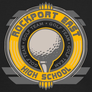 Rockport East Golf Team High School - Men's Long Sleeve T-Shirt by Next Level
