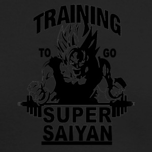 Training to go saiyan - Men's Long Sleeve T-Shirt by Next Level