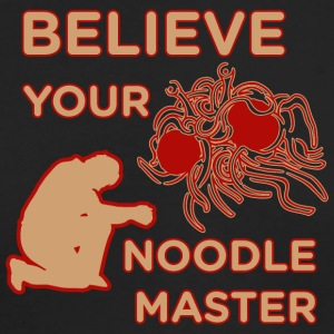 Believe your noodle master colored - Men's Long Sleeve T-Shirt by Next Level