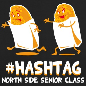 Hashtag North Side Senior Class - Men's Long Sleeve T-Shirt by Next Level