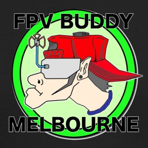 FPV Buddy Melbourne - Men's Long Sleeve T-Shirt by Next Level