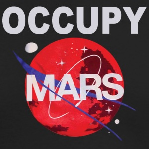 OCCUPY MARS - Men's Long Sleeve T-Shirt by Next Level