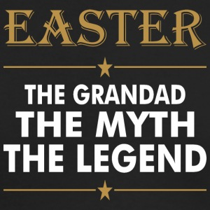 Easter The Grandad The Myth The Legend - Men's Long Sleeve T-Shirt by Next Level