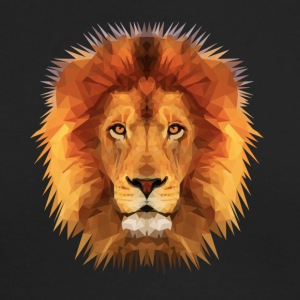 THE LION OF THE JUNGLE - Men's Long Sleeve T-Shirt by Next Level
