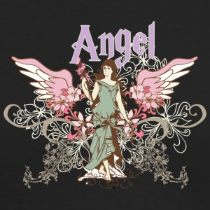 vintage angel - Men's Long Sleeve T-Shirt by Next Level