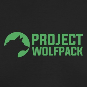 Project Wolfpack Logo - Men's Long Sleeve T-Shirt by Next Level