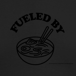 Fueled by RAMEN! - Men's Long Sleeve T-Shirt by Next Level