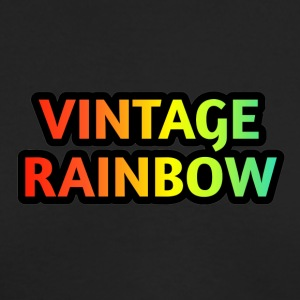 VINTAGE RAINBOW - Men's Long Sleeve T-Shirt by Next Level