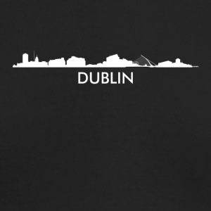 Dublin Ireland Skyline - Men's Long Sleeve T-Shirt by Next Level
