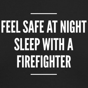 Sleep with a Firefighter - Men's Long Sleeve T-Shirt by Next Level