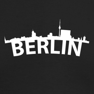 Arc Skyline Of Berlin Germany - Men's Long Sleeve T-Shirt by Next Level