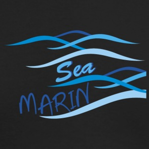 sea marin - Men's Long Sleeve T-Shirt by Next Level
