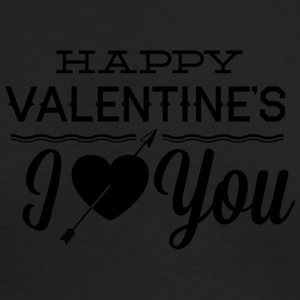 happy_valentine-s_I_love_you - Men's Long Sleeve T-Shirt by Next Level