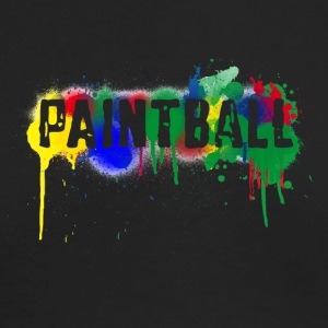 color paintball - Men's Long Sleeve T-Shirt by Next Level