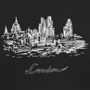 London City - United Kingdom - Men's Long Sleeve T-Shirt by Next Level