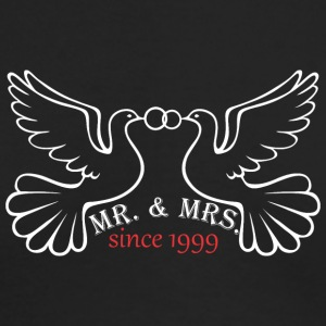 Mr And Mrs Since 1999 Married Marriage Engagement - Men's Long Sleeve T-Shirt by Next Level