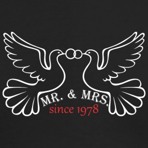 Mr And Mrs Since 1978 Married Marriage Engagement - Men's Long Sleeve T-Shirt by Next Level