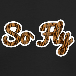 So Fly Tiger - Men's Long Sleeve T-Shirt by Next Level