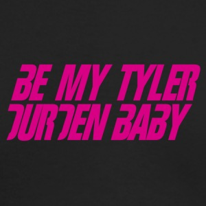 Be My Tyler Durden Baby - Men's Long Sleeve T-Shirt by Next Level