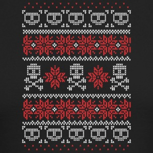 Christmas Skulls - Men's Long Sleeve T-Shirt by Next Level