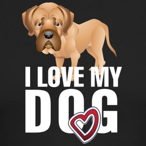 I_love_my_dog_white - Men's Long Sleeve T-Shirt by Next Level