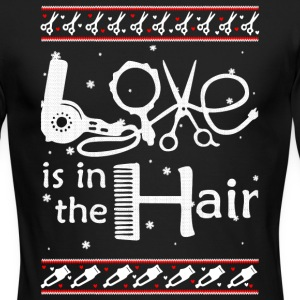 Love Is In The Hair T Shirt - Men's Long Sleeve T-Shirt by Next Level