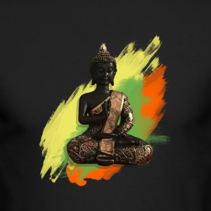 Buddha - Men's Long Sleeve T-Shirt by Next Level