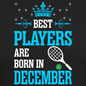 Best Players Are Born In December - Men's Long Sleeve T-Shirt by Next Level