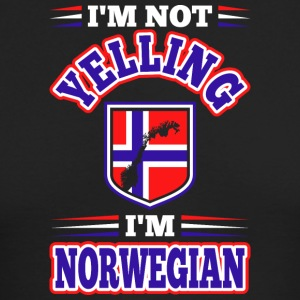 Im Not Yelling Im Norwegian - Men's Long Sleeve T-Shirt by Next Level